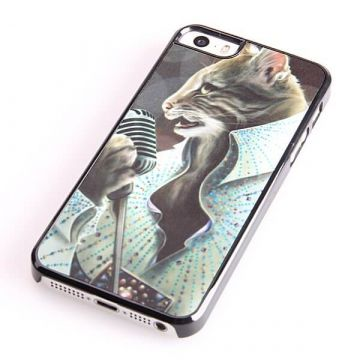 Coque chat Elvis Presley iPhone 5C