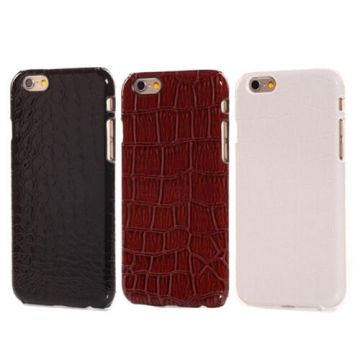 Coque rigide alligator iPhone 6