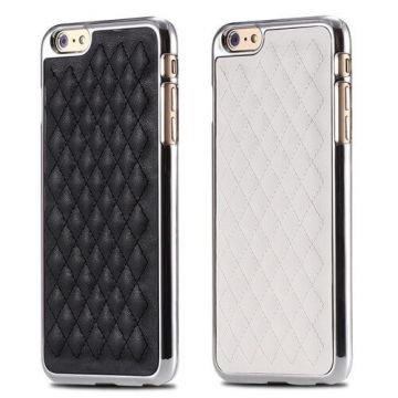 Quilted imitation leather hard case iPhone 6