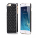 Padded imitation leather iPhone 6 hard case
