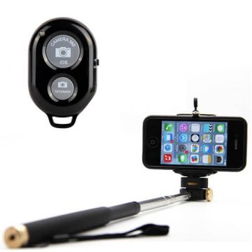 Selfie pack - selfie stick & bluetooth remote