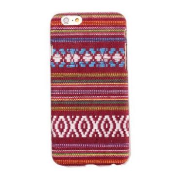 Coated Bolivian patterned hard cover case for iPhone 6
