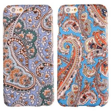 Arabesk textiel patroon hard case iPhone 6 hoesje