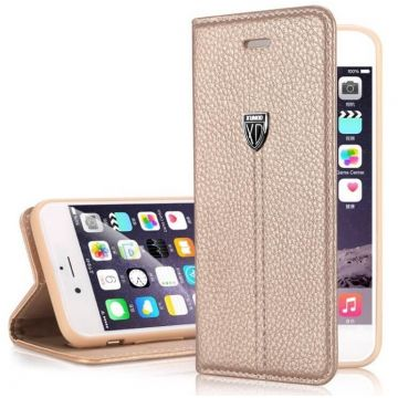 Leather look portfolio stand case XUNDD iPhone 6 Plus