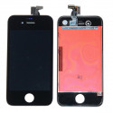 Original Glass Digitizer, LCD Screen and Full Frame for iPhone 4 Black